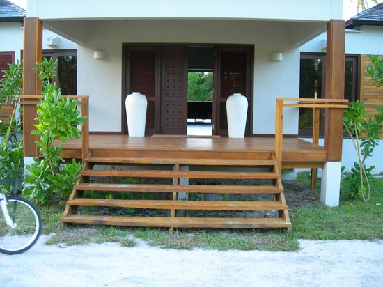 Desroches Island : ingresso villa