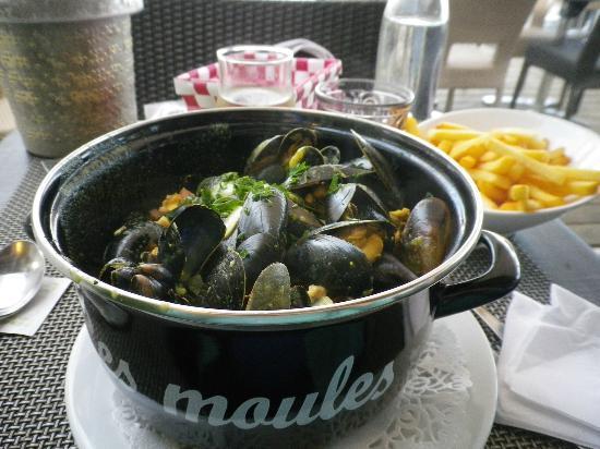 Restaurant < La Criee > Brasserie: Les moulews de la Criée