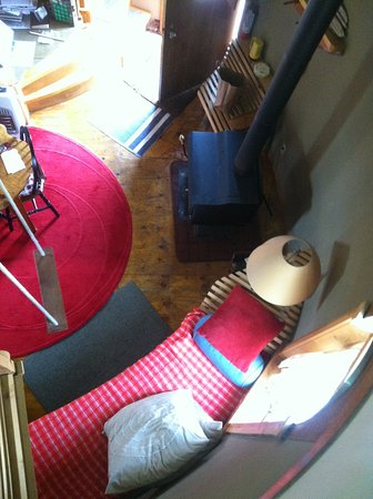Marcia's Bed and Breakfast: View from the loft