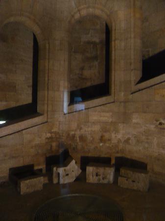 Blick auf den unteren Teil des Trumes am Gauforum