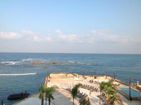 Byblos Sur Mer: View from room 207
