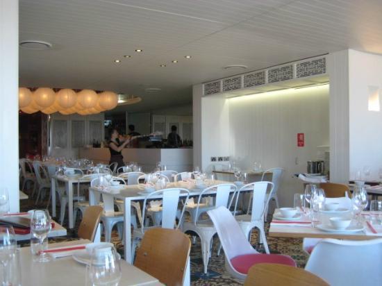 China Beach: Inside the restaurant - really lovely