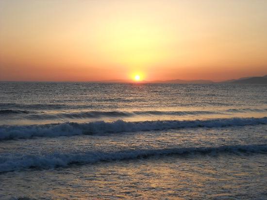 Luana Hotels Santa Maria: Sunset