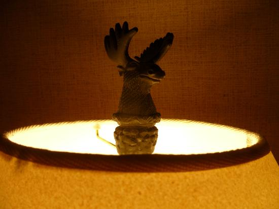 Stoney Creek Hotel & Conference Center - La Crosse: Top of lamp by the bed