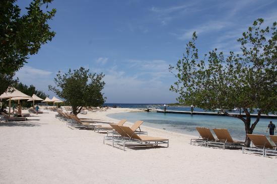Santa Barbara Beach Golf Resort Curacao Plage Aménagée