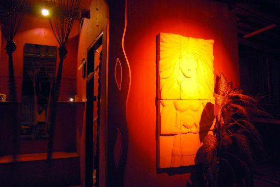 MOOV Restaurant, Club & Art Garden: Toilet facade art