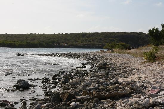 Santa Barbara Beach & Golf Resort, Curacao : La plage non aménagée
