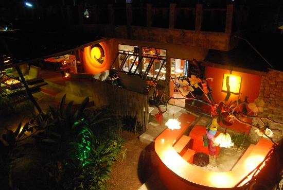 MOOV Restaurant, Club & Art Garden: View from the treetop