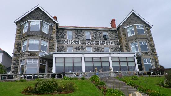 Housel Bay Hotel & Restaurant: Sea Front View