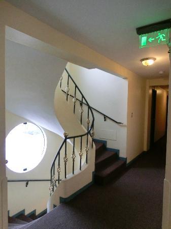 Embajadores Hotel: 廊下 
