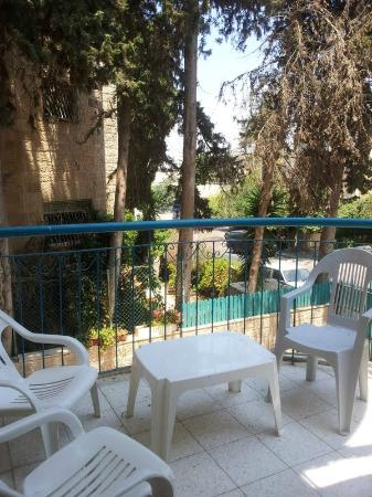Eden Jerusalem Hotel: View from the suite