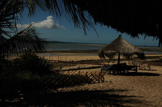 Villas do Indico Ocean Eco-Resort & Spa: Beach gazebos