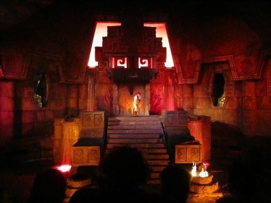 El Templo Del Fuego Fotografía De Portaventura Salou Tripadvisor