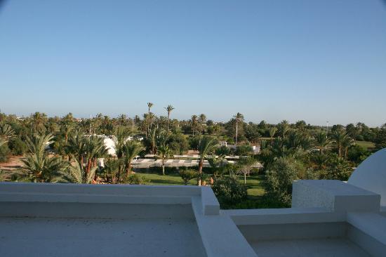 Hotel Palace Royal Garden: vue de notre chambre sur jardin