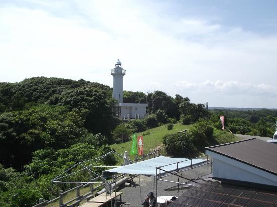 Cape Taito: 灯台と「サービスセンター燈台の駅」