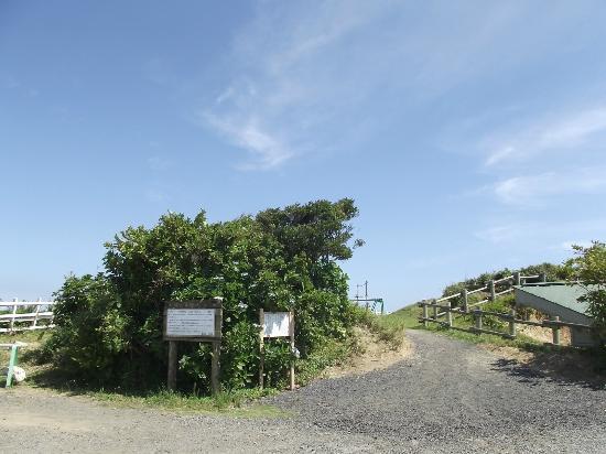 Cape Taito: 灯台周辺 (海軍設備跡など)