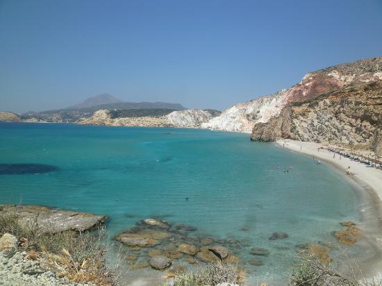 Psaravolada Resort: Firiplaka - one of the best beaches in Milos