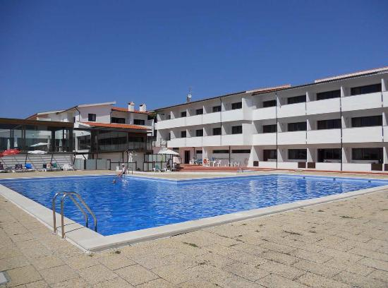 Hotel Santo Andre: Overlooking the pool 