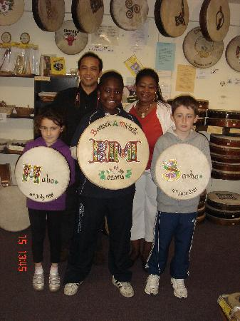 Roundstone Music & Crafts: Bodhran for Obama family