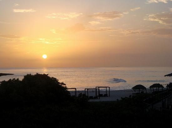 Melia Buenavista: Nice Sunrise !!