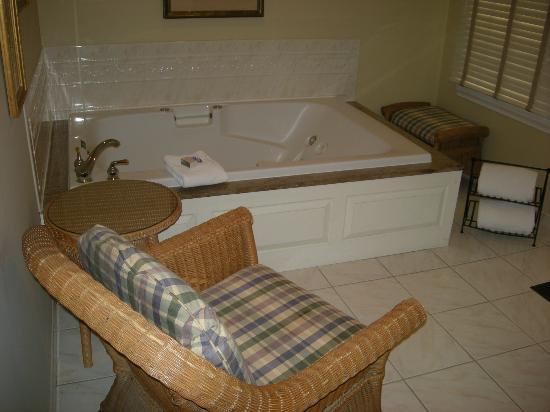 The Lambertville House Hotel : Whirlpool