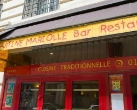 Tartine Mariolle : outside