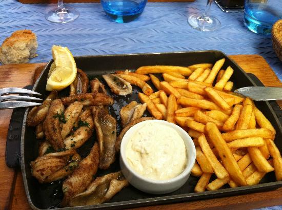 Filets de perche Restaurant du Lac