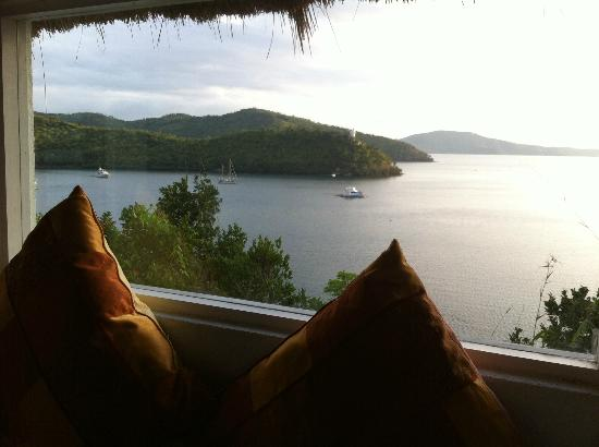 Puerto Del Sol Resort Hotel and Dive Center Coron: View from the bathroom - Traveldivaritagoh