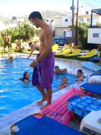 Aegean Sky Hotel & Suites: Poolside
