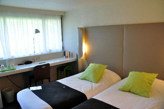 Hotel Inn Design Resto Novo Sainte Luce Sur Loire: unser Zimmer