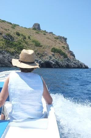 Grotte Marine di Capo Palinuro - Palinuro Porto: Überfahrt