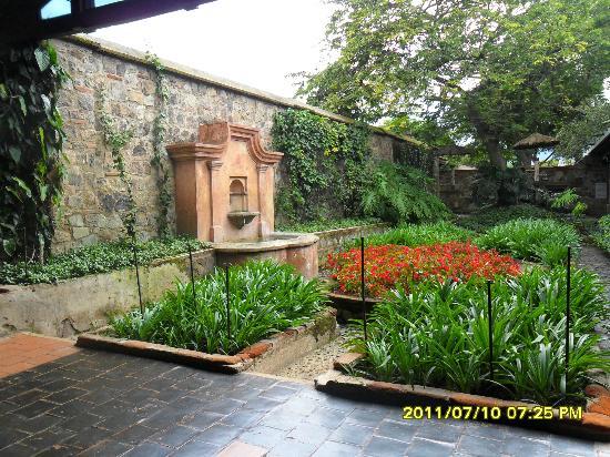 هوتل كازا سانتو دومينجو: jardim 