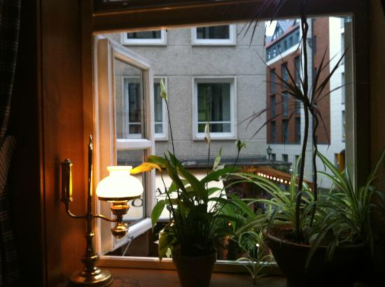 Broyhan Haus: sight from a table while dining