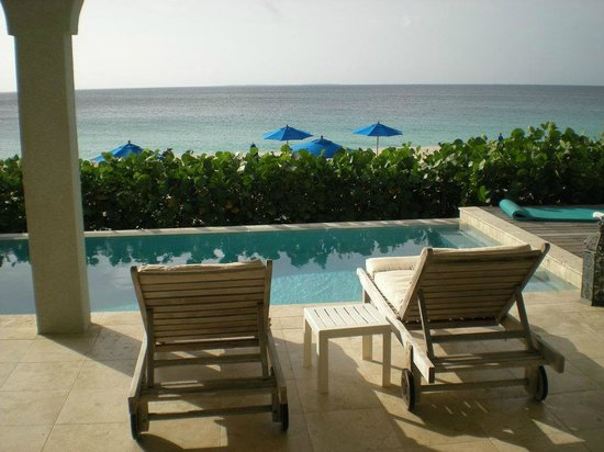 West End Village, Anguilla: Looks like a postcard..view from the deck