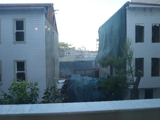 View or lack thereof from ground floor room.