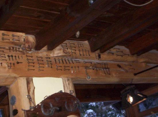 Cabanas El Viejo Marquéz: DECORACION DE LUGAR DE DESAYUNO