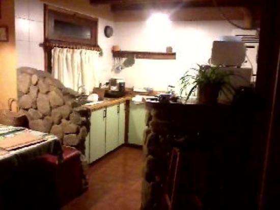 Cabanas el Viejo Marquez: COCINA CABAÑA 2