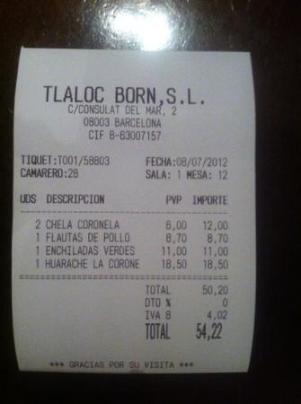 La Coronela : una cerveza con tequila 6€