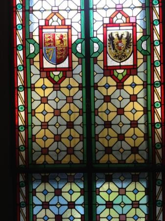 Inside Hotel Des Trois Couronnes