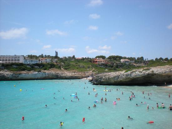 Club Cala Romani: Local beach