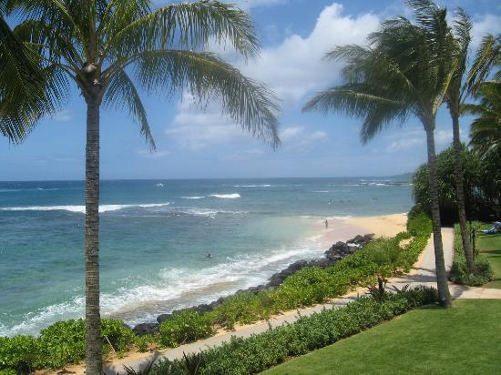 Koa Kea Hotel & Resort: Beautiful view from the grounds of the hotel