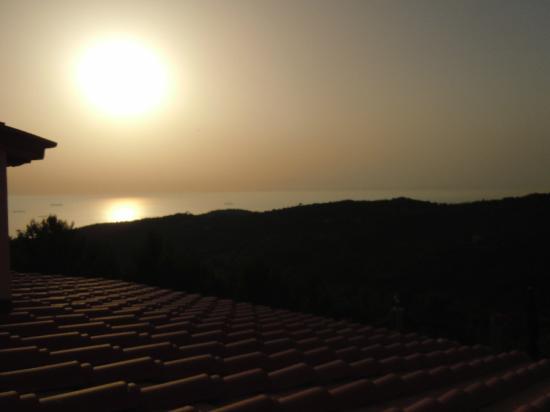 Arpaderba B&B: tramonto