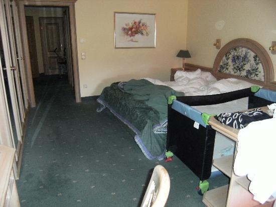 Hotel Bareiss: chambre
