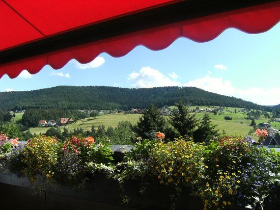Hotel Bareiss: vue