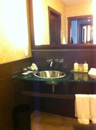 The Oxford Hotel: salle de bain