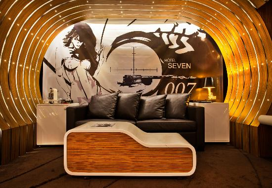 Seven Hotel Paris: Suite 007