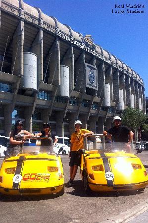 GoCar Tours: Futbol Mecca