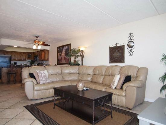 Gulf Shores Condominiums: Unit 302 Living Room