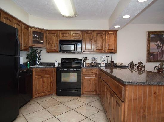 Gulf Shores Condominiums: Unit 302 Kitchen