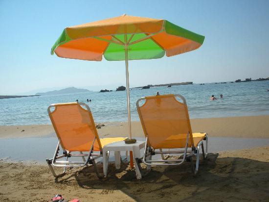 Danaos Hotel: Spiaggia dell'hotel